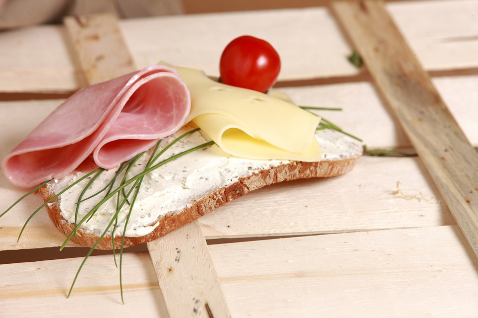 Eat Diet Cheese Breakfast Chives Bread And Butter